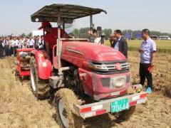 安徽大豆种植机械化现场演示会在埇桥区召开_三农